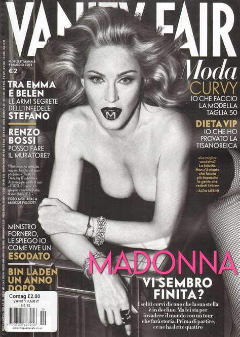 Issue Vanity Fair by Madonnalicious Italian Magazines Vanity Fair
