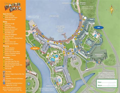 dvc map dvc rental boardwalk villas