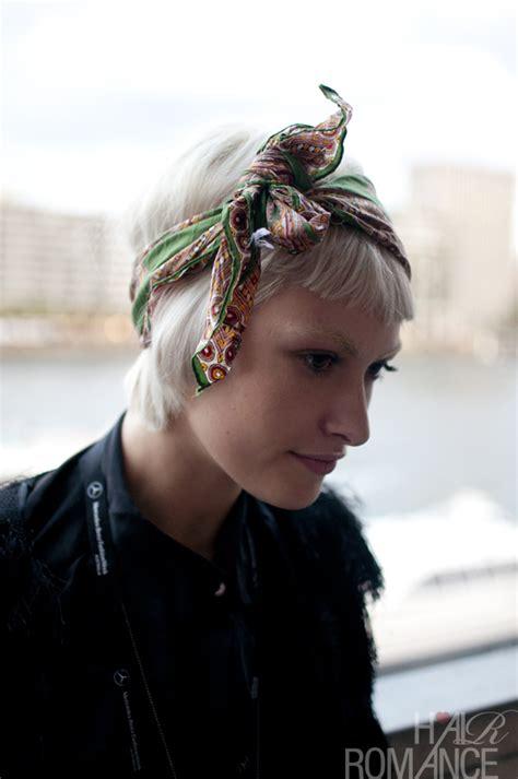 street style hair scarves street style hair scarf headband hair romance