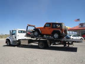 Towing Tires For Truck 2012 Jeep Wrangler Sport With Lots Of Flat Tires On Tow