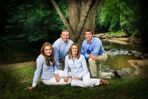 Outdoor Family Portraits by Family Portraits Potomac Photographer