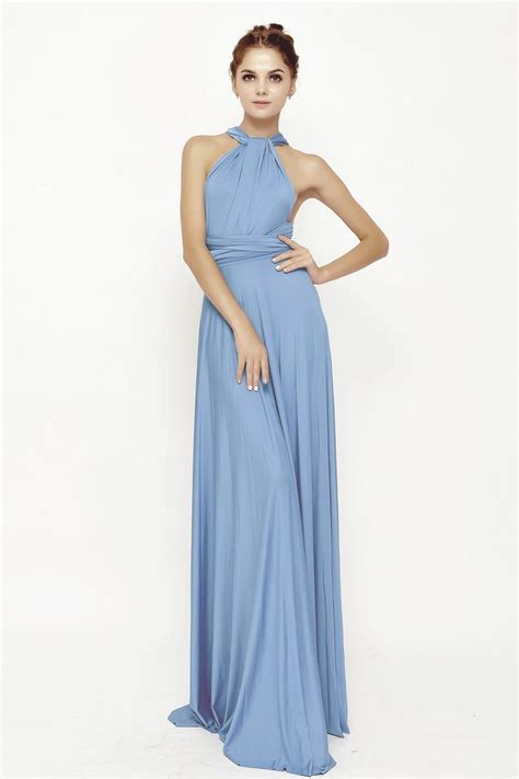 Bridesmaid Dresses 50 Usa - 1 sky blue infinity dresses convertible bridesmaid