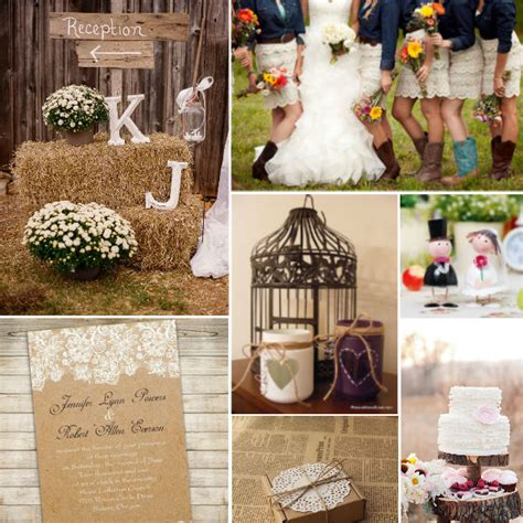 Used Rustic Wedding Decorations For Sale Vintage Floral Lace Wedding Invitations Ewi270 As Low As