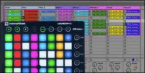 Launchpad Drum Rack by Launchkey Mini