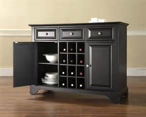 wine storage buffet crosley lafayette buffet server sideboard cabinet with