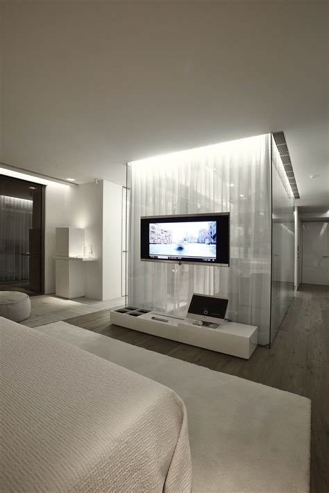 Bedroom Design Tv Wall S House Interior By Tanju 214 Zelgin 31 Homedsgn