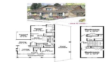 craftsman cottage floor plans bungalow house floor plans 1929 craftsman bungalow floor