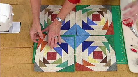 youtube pineapple quilt pattern how to make the pineapple quilt with pattern youtube