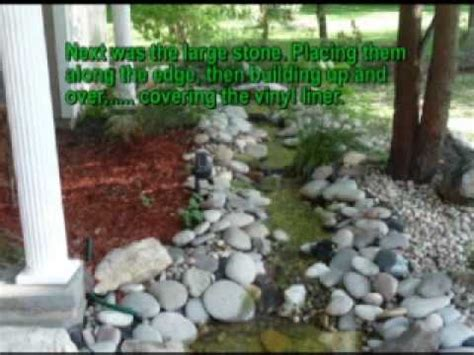 serenity pool waterfall installation youtube how to create a pondless waterfall youtube
