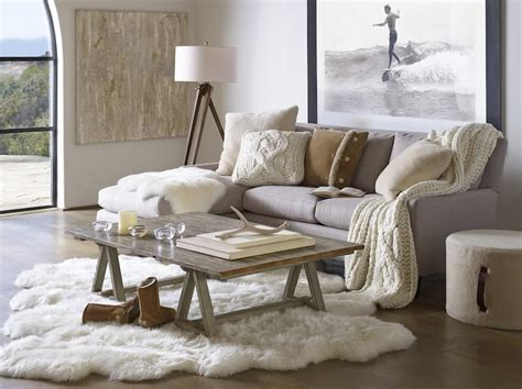 Winter Living Room Clean Cozy Neutral Winter Decorating Ideas The Happy Housie