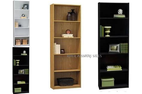 ameriwood 6 shelf bookcase ameriwood 5 shelf wood bookcases choice multiple finishes