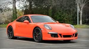 Orange Porsche Gorgeous 2016 Lava Orange Porsche Gts Cars For Sale