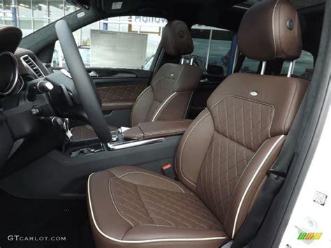 2015 S Class Interior by Designo Auburn Brown Interior 2015 Mercedes Gl 350