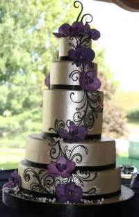purple and silver wedding cakes wedding and bridal