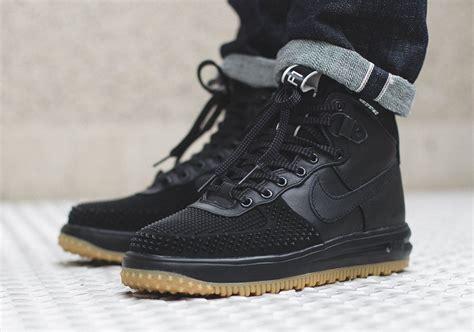nike lunar boots nike lunar 1 duckboot black gum sneaker bar detroit