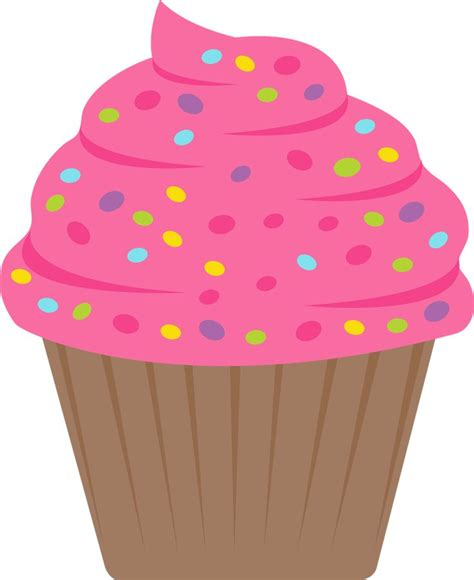 cupcake clipart free cupcake with sprinkles clipart 101 clip