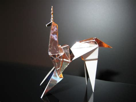 Origami Blade - blade runner origami unicorn prop by thefurthershore on etsy