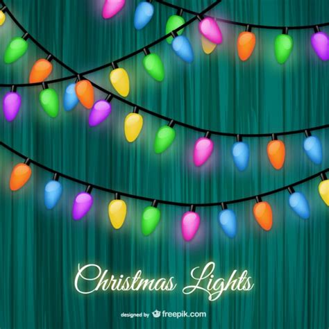christmas lights vector images