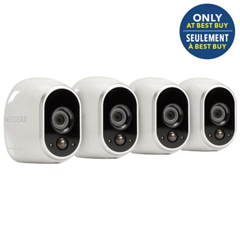 netgear arlo wireless indoor outdoor security system with