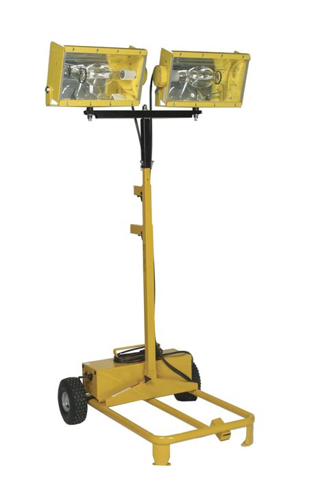 Portable Light Towers bull power products dual headed light tower