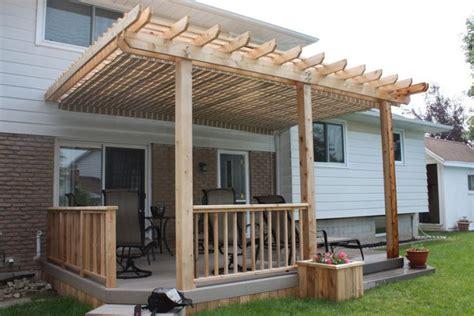 Pergola Diy Deck Plans Deck Plans With Pergola