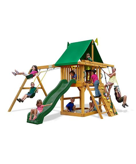 tarp for swing set tarp roof rambler wooden swing set