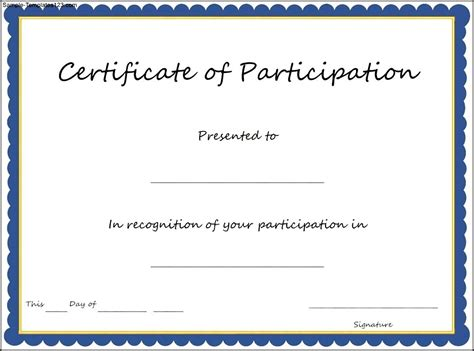 running certificate templates free customizable