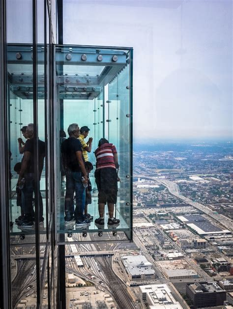 willis tower deck imposing and majestic willis tower in chicago illinois