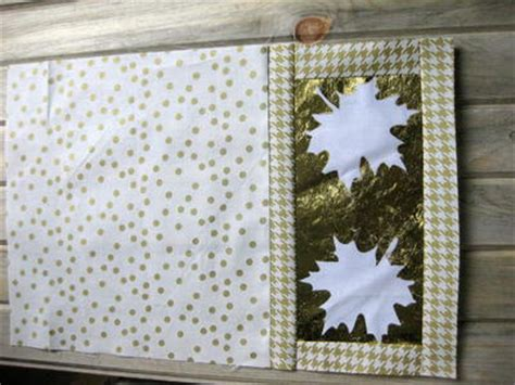 pattern for leaf shaped placemats gold leaf placemat pattern allfreesewing com