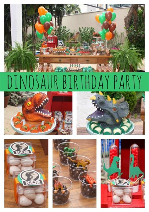 jurassic park themed party pretty  party
