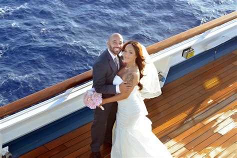 Wedding On A Cruise by Our Carnival Cruise Line Wedding Recap Pic Heavy