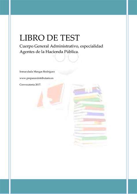 libro the testing 8 libro de test