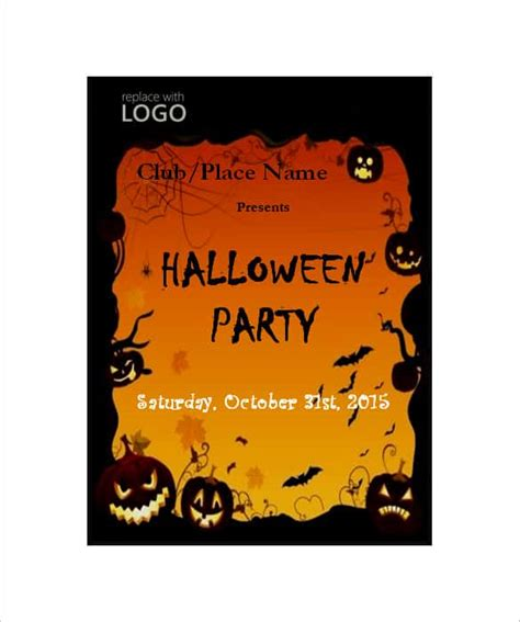 halloween templates for word 68 microsoft invitation template free sles exles