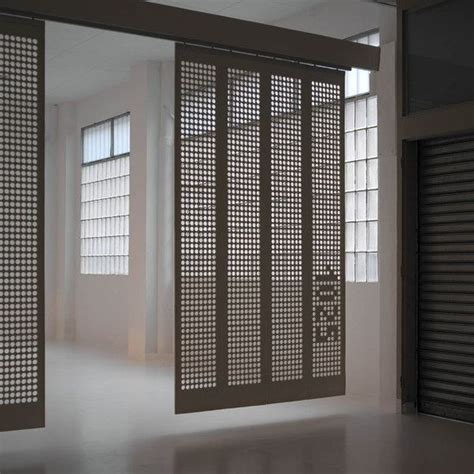 curtain wall partition moveable curtain panel walls like the pierced screen and