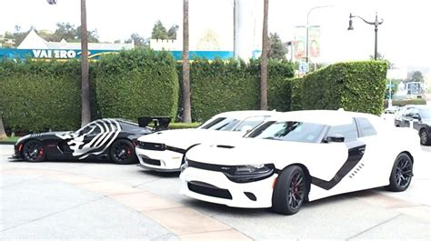 Star Wars Auto by Dodge Hits L A In Star Wars Themed Cars