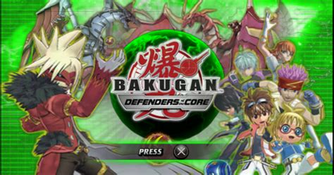 download game ps2 format iso ppsspp bakugan battle brawlers defenders of the core psp iso free