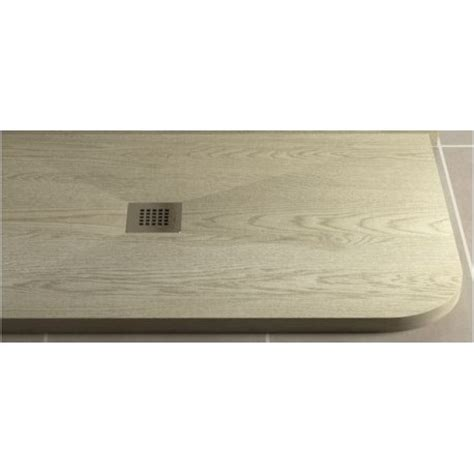 piatto doccia 70x90 stondato piatto doccia in pietra sintetica effetto legno 70x90 cm