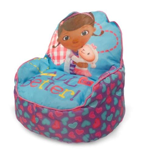doc mcstuffins armchair disney doc mcstuffins toddler bean bag sofa chair
