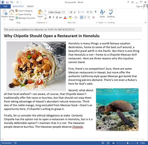 how to start blogging using microsoft word with wordpress