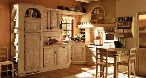 come arredare una casa country come arredare una cucina country
