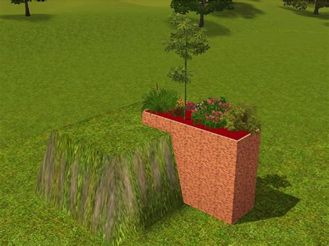 Sims 3 Planter Box by Mod The Sims Problem With Foundation As Planter Boxes