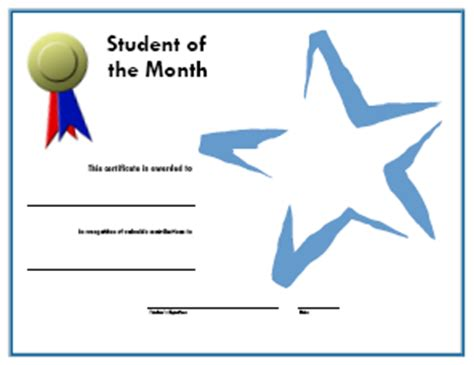 student of the week certificate template free 20 places to find award certificate templates a media