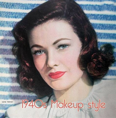 hairstyles to make 40 look 1940 makeup style 5 style me retro pinterest makeup