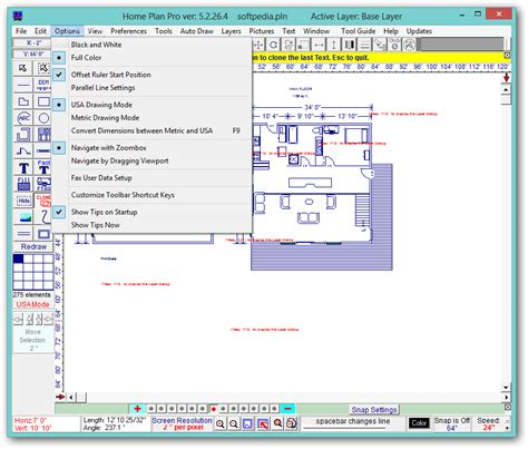screenshot review downloads of demo ez architect home plan pro download free with screenshots and review