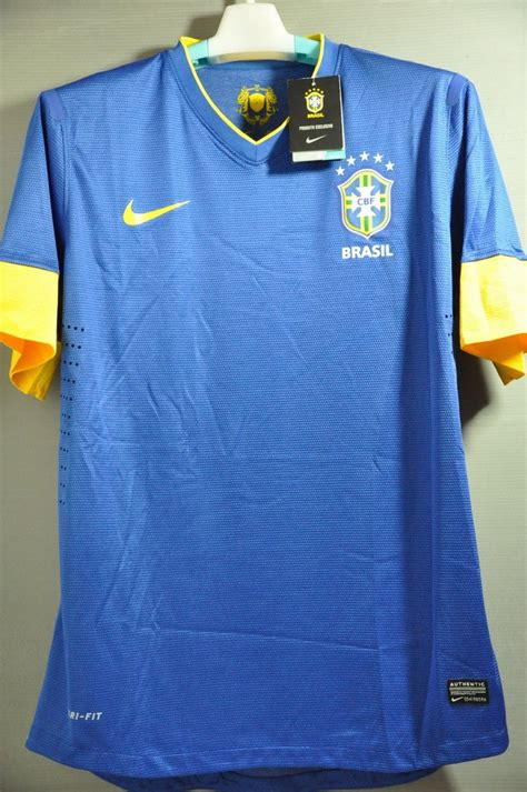 Jersey Brazil Away World Cup 2014 brazil brasil player issue authentic away jersey shirt maglia trikot nwt authentic shirt world