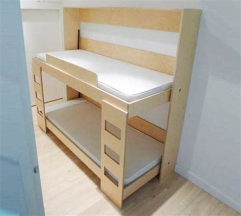 narrow bunk beds moving space saving double bunk bed for kids room kidsomania
