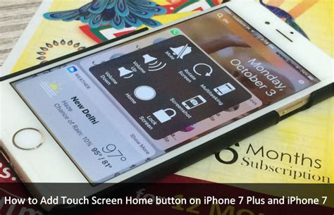 add touch screen home button on iphone x iphone 8 plus