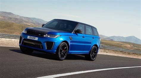 2018 range rover 2018 range rover sport svr gets an early reveal the