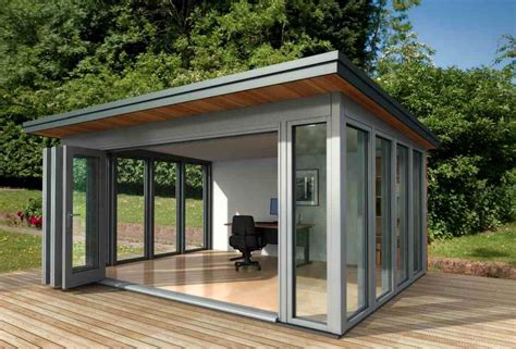 Small Home Garden Office Small Shed Offices Glass Garden Office Communal Area