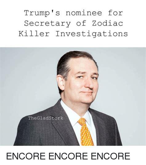 donald trump zodiac killer trump s nominee for secretary of zodiac killer